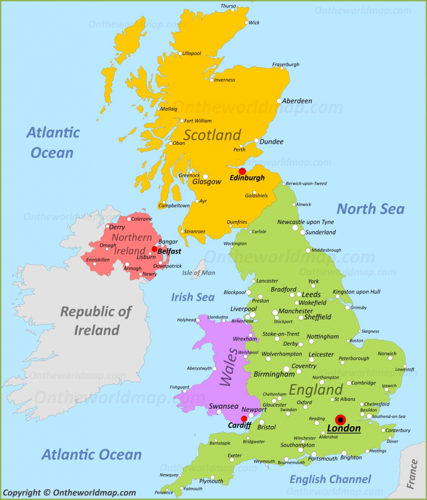Uk Maps | Maps Of United Kingdom throughout Printable Map Of Uk Towns And Cities