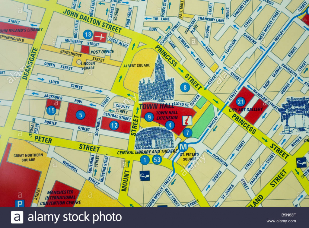 Uk Maps Stock Photos & Uk Maps Stock Images - Alamy with regard to Printable Street Map Of Harrogate Town Centre
