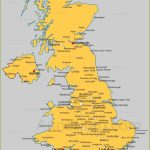 United Kingdom Cities Map | Cities And Towns In Uk   Annamap Throughout Printable Map Of England With Towns And Cities
