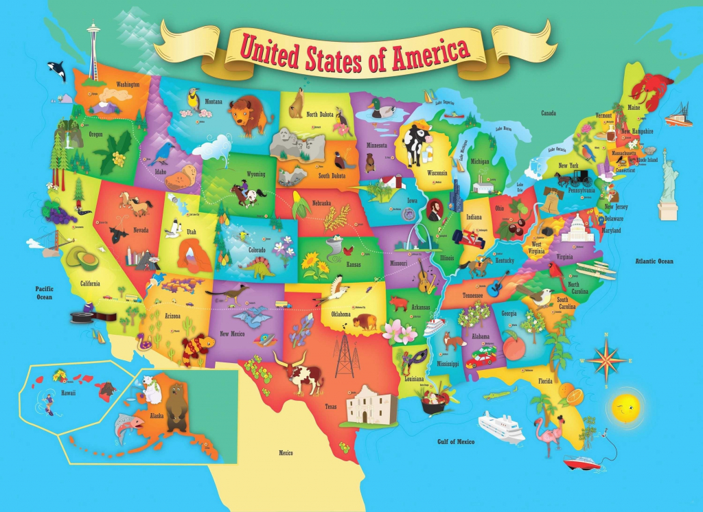 United States Map Educational Games New United States Map Kids Valid regarding Printable State Maps For Kids