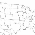 United States Outline Map Pdf Fresh Blank Map Us Blank Us Outline Pertaining To Blank Us Political Map Printable
