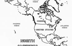 Us Map Coloring Pages | Educational Coloring Pages | Maps For Kids with regard to Printable Map Of North America For Kids