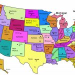 Us Map With Names Printable Usa Namesprint Lovely Best Maps The In Printable Map Of The United States