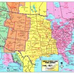 Us Maps Time Zone And Travel Information | Download Free Us Maps With Maps With Time Zones Printable