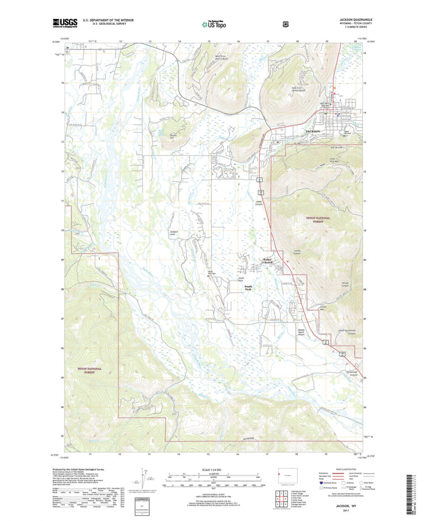 Us Topo: Maps For America regarding Printable Topographic Map Of The United States
