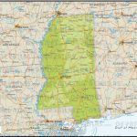Ussp Printable Map Of Mississippi Physical Map 18 Physical Maps Of pertaining to Printable Map Of Ms