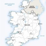 Vector Map Of Ireland Political | One Stop Map Within Printable Map Of Ireland