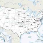 Vector Map Of United States Of America | One Stop Map Within Map United States Of America Printable