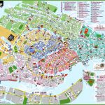 Venice Attractions Map Pdf   Free Printable Tourist Map Venice For Venice City Map Printable