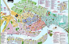 Venice Tourist Attractions Map pertaining to Printable Map Of Venice