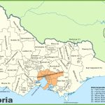 Victoria State Maps | Australia | Maps Of Victoria (Vic) Intended For Printable Map Of Victoria Australia