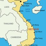 Vietnam Maps   Map Of All Areas In Vietnam With Regard To Printable Map Of Vietnam
