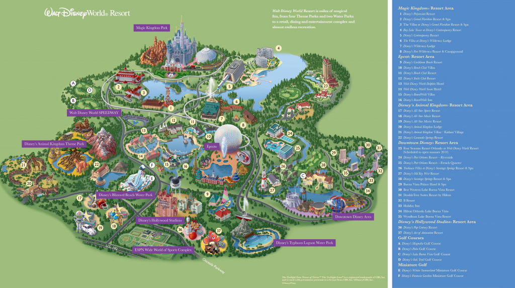 Walt Disney World Maps - Parks And Resorts In 2019 | Travel - Theme with regard to Disney World Map 2017 Printable