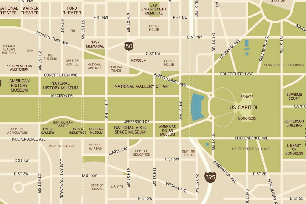 Washington, D.c. National Mall Maps, Directions, And Information inside National Mall Map Printable