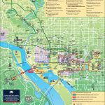 Washington, D.c. Tourist Attractions Map Throughout Washington Dc Map Of Attractions Printable Map
