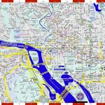 Washington Dc Maps – Top Tourist Attractions – Free, Printable City inside Printable Map Of Downtown Dc