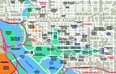 Washington Dc Maps – Top Tourist Attractions – Free, Printable City throughout Printable Map Of Dc