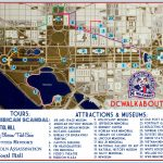 Washington Dc Tourist Map | Tours & Attractions | Dc Walkabout Throughout Printable Street Map Of Washington Dc