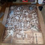 Wave Echo Cave Full Size Map : Dnd With Regard To Lost Mine Of Phandelver Printable Maps