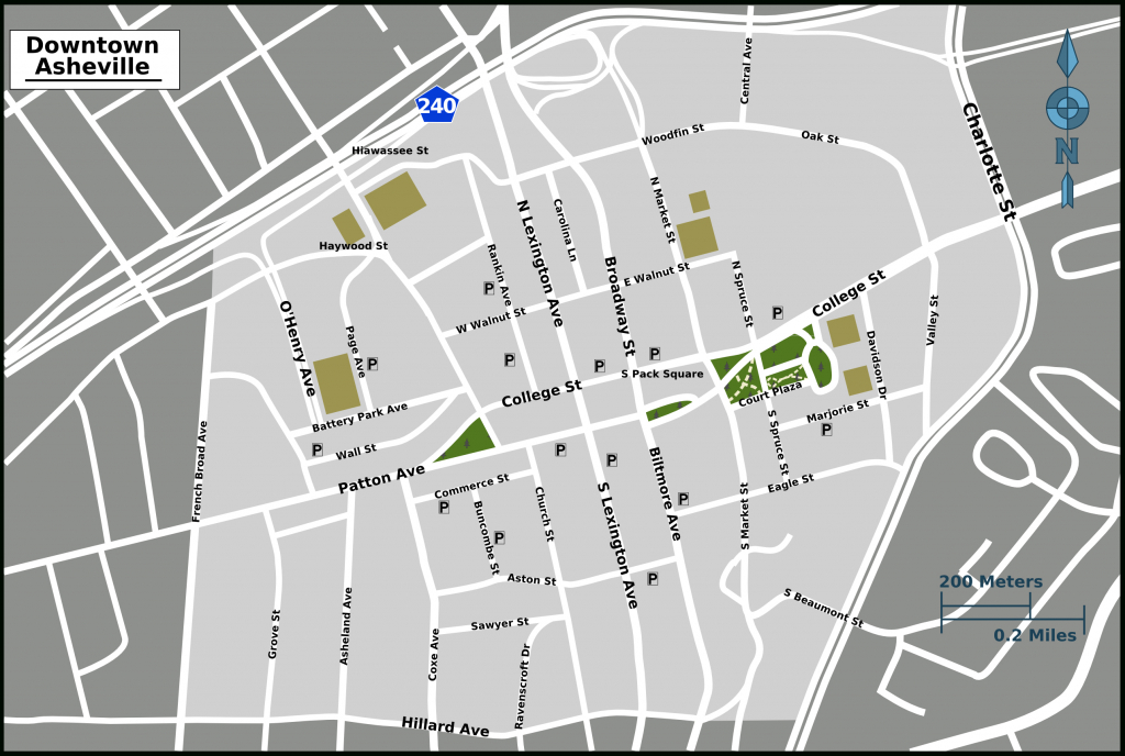 Wayfinding Downtown Map_Thumbnail | Asheville, Nc | Pinterest with regard to Printable Map Of Downtown Asheville Nc