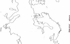 Physical World Map Outline Printable