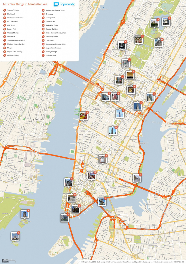 What To See In New York City | Maps Of Walking Tours | New York City throughout Printable Walking Map Of Manhattan