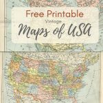 Wonderful Free Printable Vintage Maps To Download   Pillar Box Blue In Create Printable Map