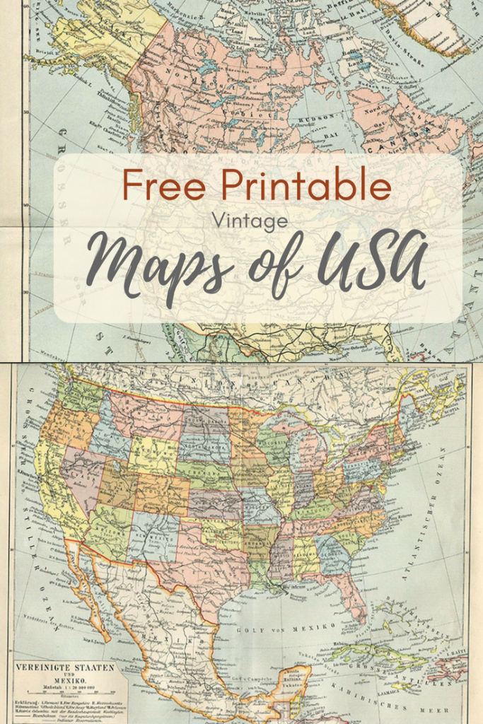 Wonderful Free Printable Vintage Maps To Download - Pillar Box Blue in Create Printable Map