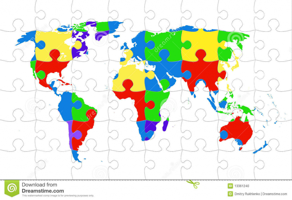 World Map Online Puzzle | World Maps With Countries pertaining to World Map Puzzle Printable
