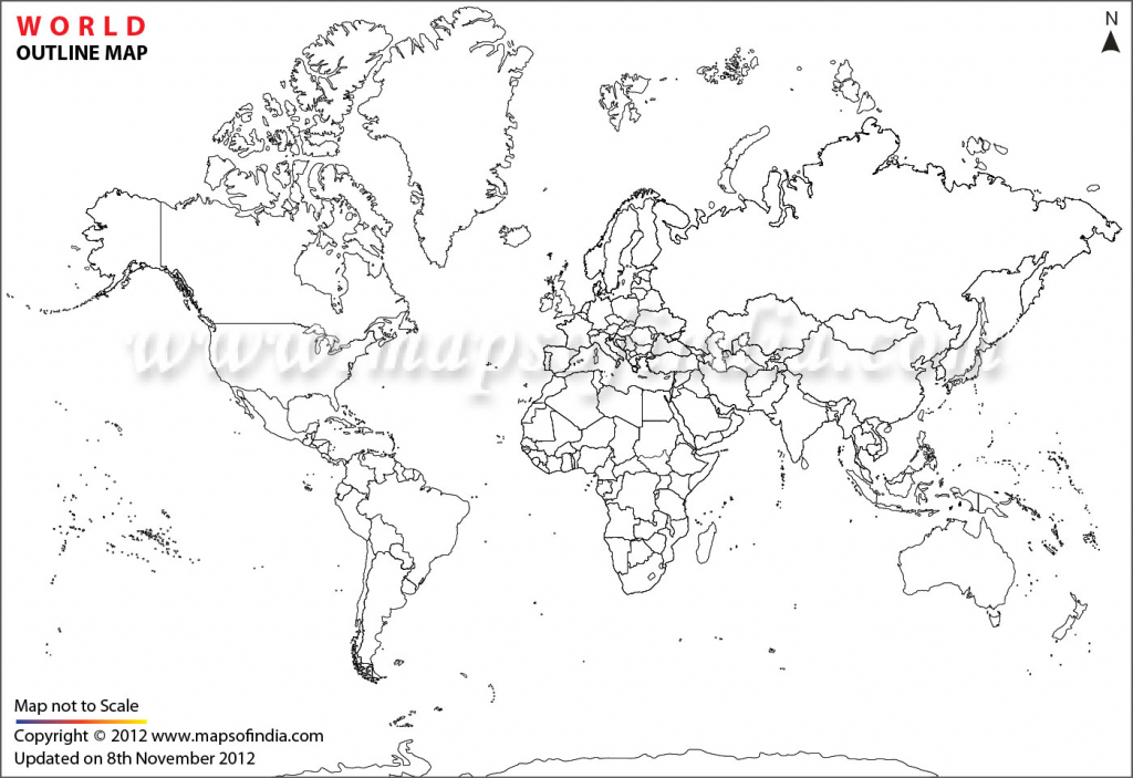 World Map Printable, Printable World Maps In Different Sizes for India Outline Map A4 Size Printable