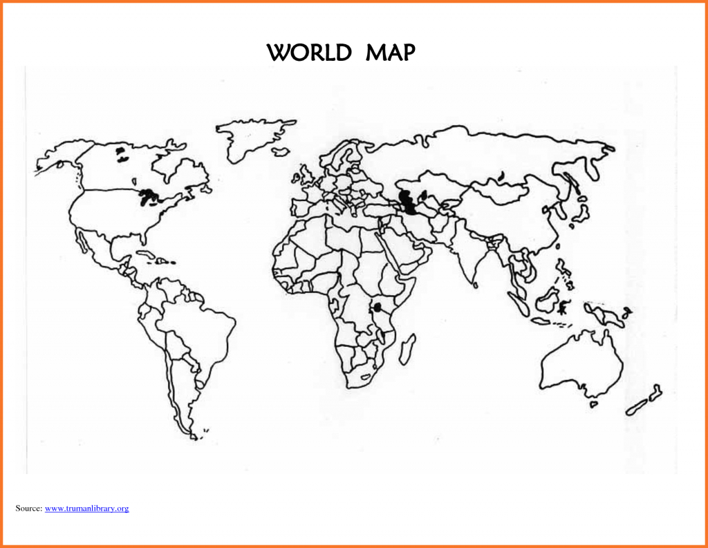 World-Map-Template-Printable-Blank-World-Map-Countries_294994 World intended for Printable Blank World Map For Kids