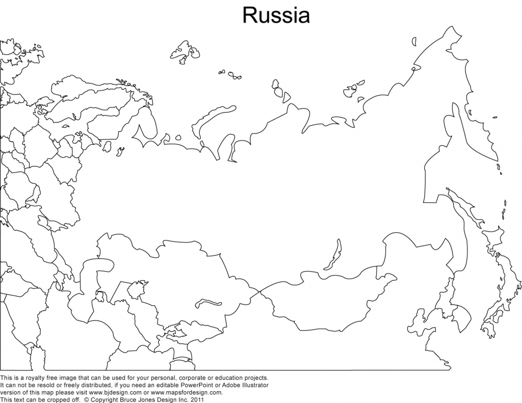 World Regional Printable, Blank Maps • Royalty Free, Jpg throughout Outline Map Of Russia Printable