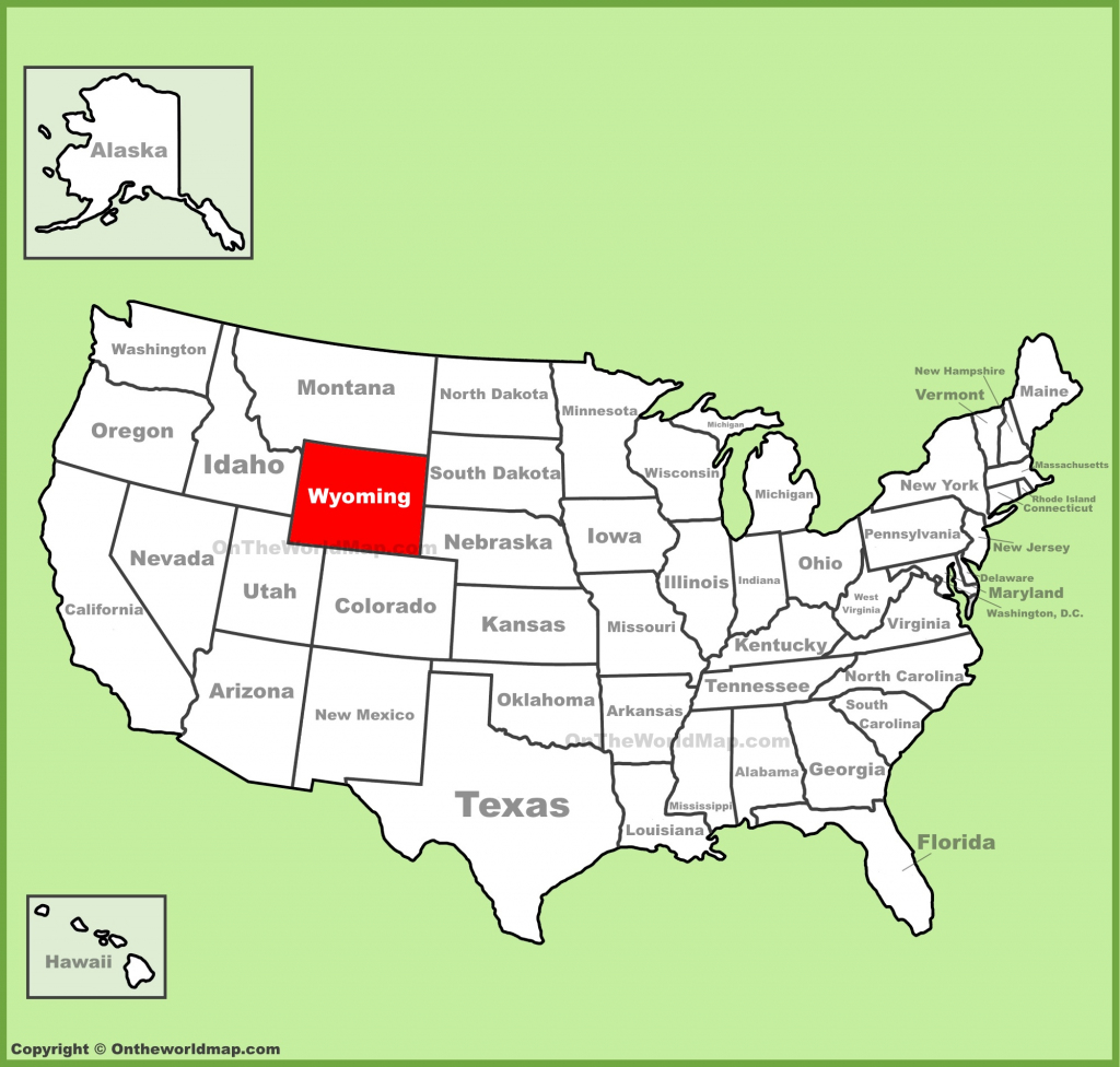 Wyoming State Maps | Usa | Maps Of Wyoming (Wy) pertaining to Printable Map Of Wyoming