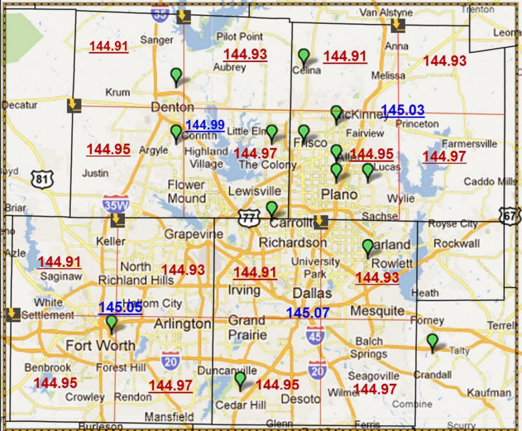 Zip Code Map Dallas - Dallas Texas Zip Code Map (Texas - Usa) regarding Dallas Zip Code Map Printable