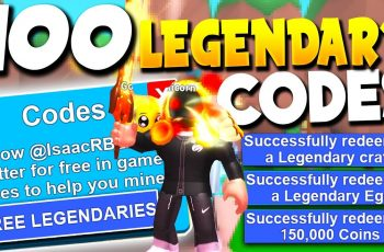 100+ Legendary & Mythical Roblox Mining Simulator Codes *mythical Update  Codes*