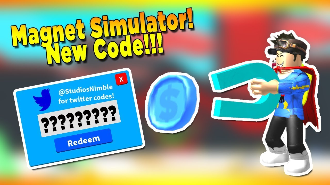 *epic Egg*new Code For Magnet Simulator Roblox
