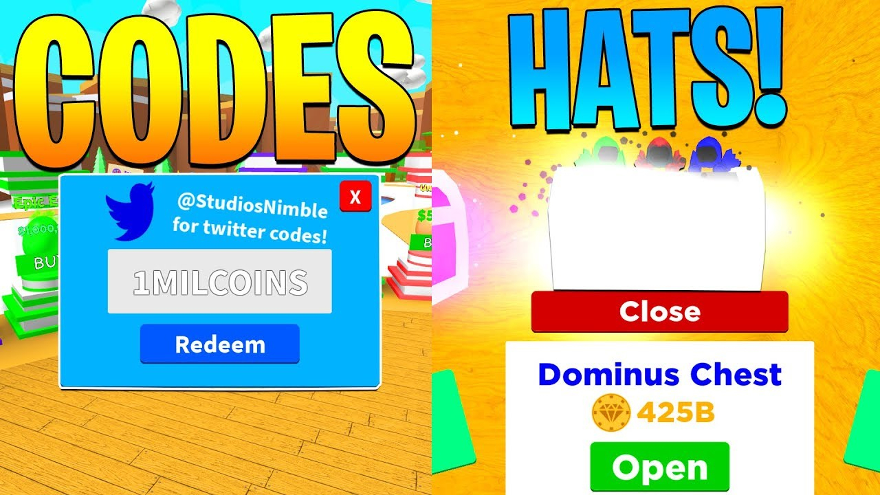 Update 7 Codes And New Hats In Magnet Simulator! (Roblox)