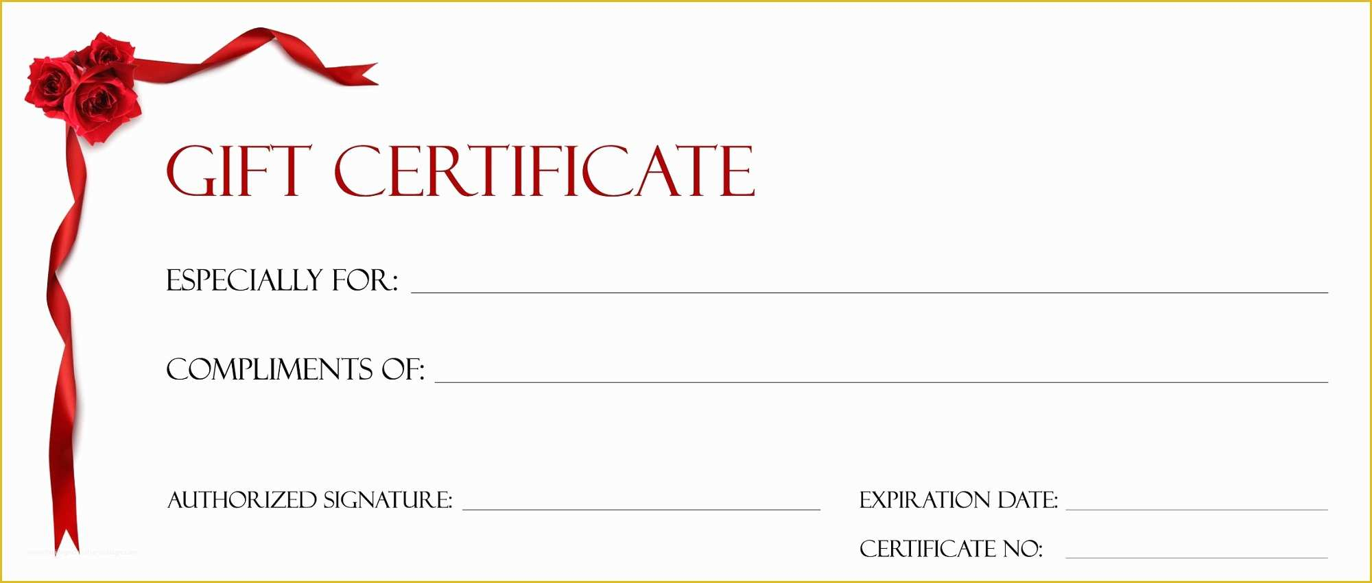 001 Free Printable Gift Certificate Template Pages Christmas
