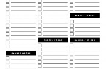 004 Template Ideas Free Printable Shopping List Exceptional