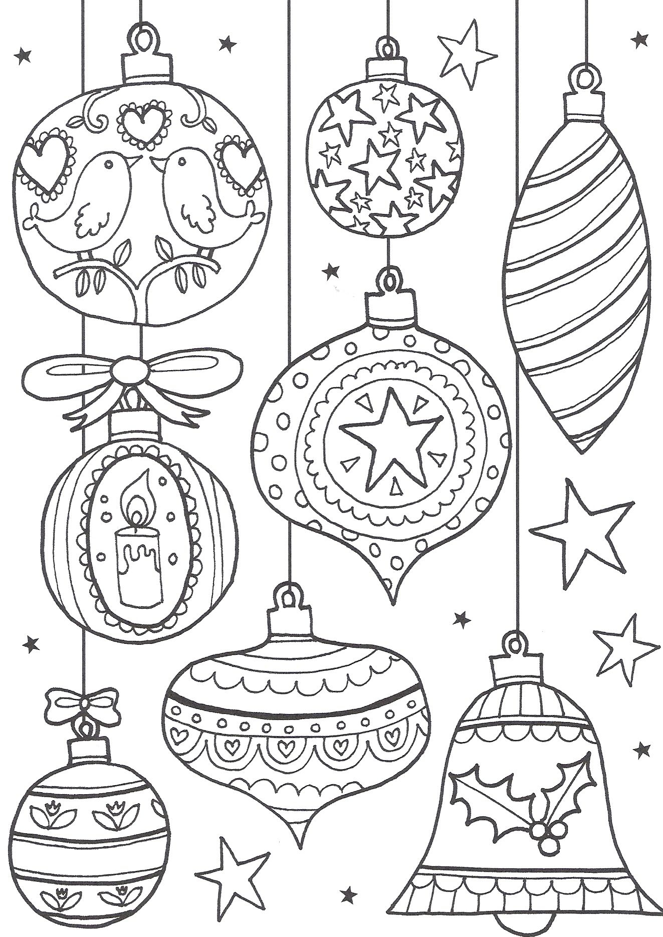 Free Christmas Colouring Pages For Adults – The Ultimate