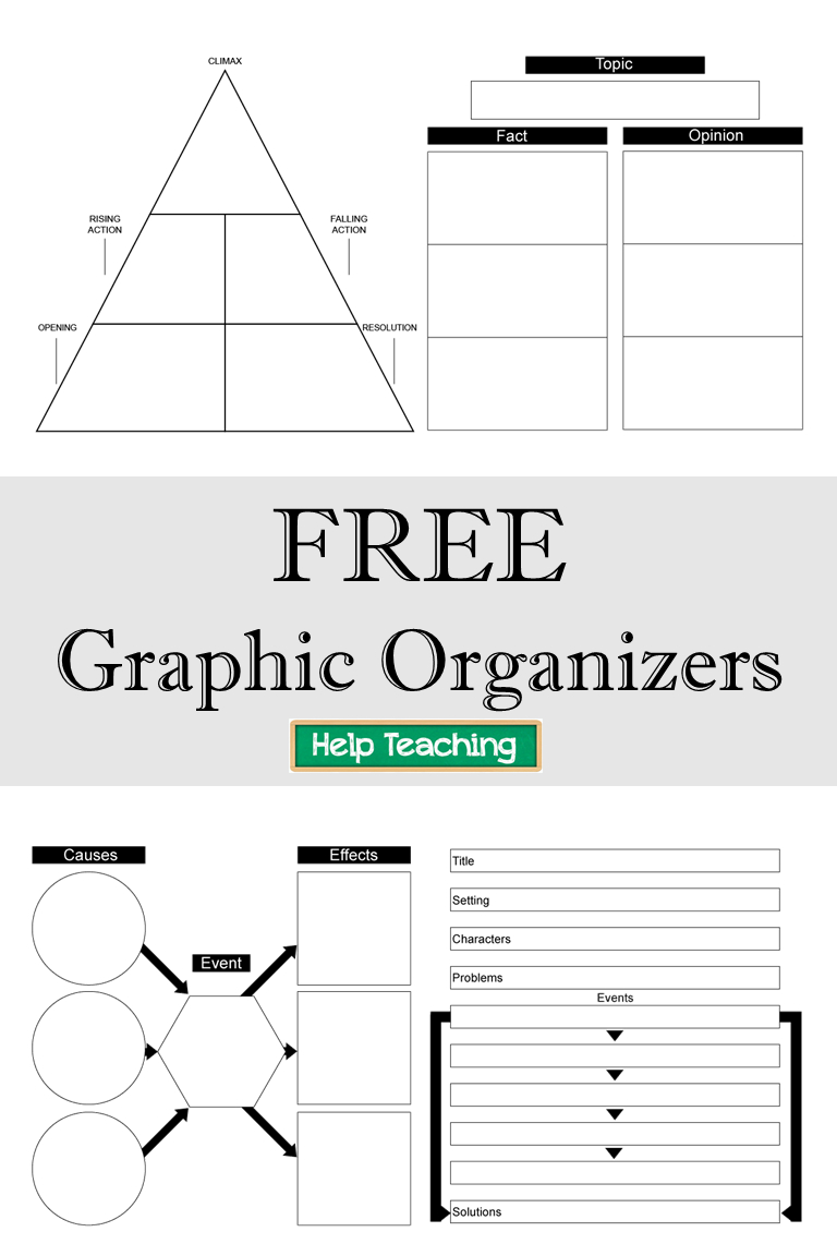 Free Printable Graphic Organizers - Check Out Our Collection