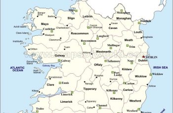 Ireland Maps | Printable Maps Of Ireland For Download