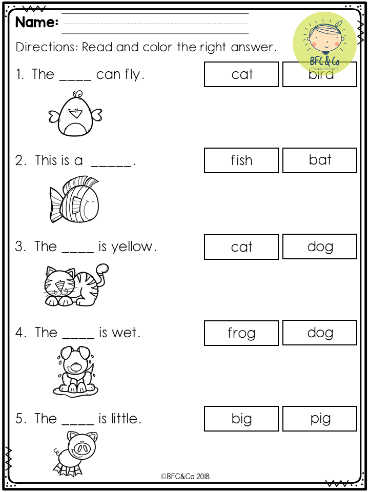 Worksheets For Children